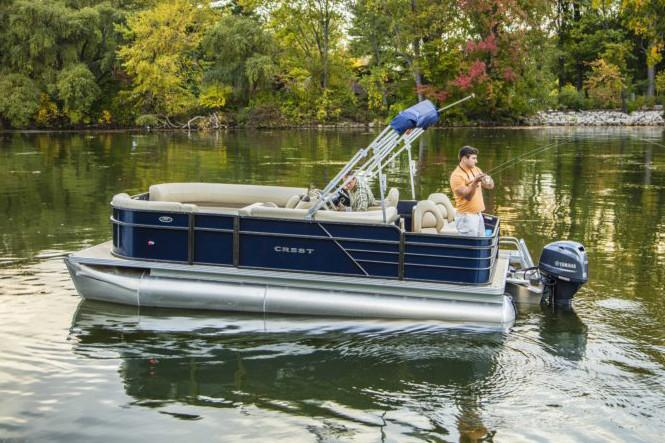2018 Crest I Fish 220 SF in Edgerton, Wisconsin