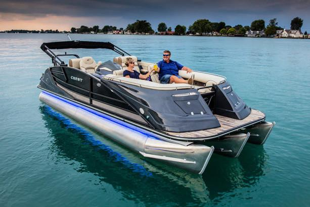 2018 Crest Savannah 250 SLS in Kaukauna, Wisconsin