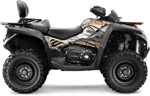 2016 CFMOTO CForce 800 EPS TT Camo in Mechanicsburg, Pennsylvania