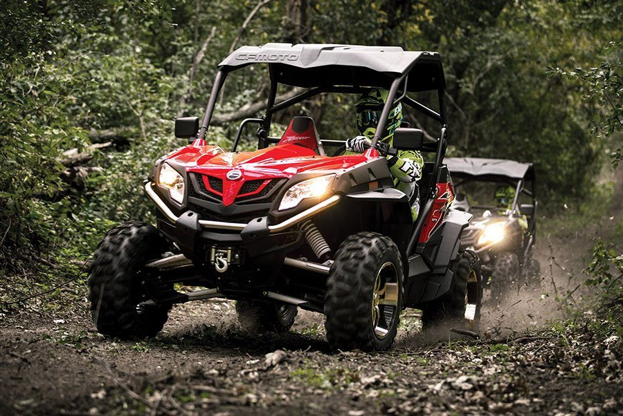 2016 CFMOTO ZForce 800 EPS Trail in Oakdale, New York