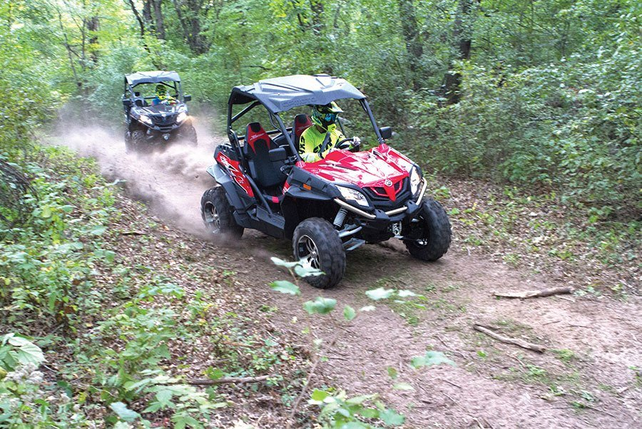 2016 CFMOTO ZForce 800 EX EPS in South Hutchinson, Kansas