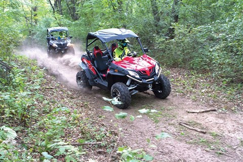 2016 CFMOTO ZForce 800 EX EPS in Lancaster, New Hampshire