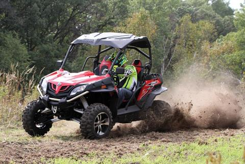 2016 CFMOTO ZForce 800 Trail in Sierra Vista, Arizona
