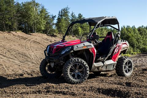 2017 CFMOTO ZForce 800 EPS Trail in Billings, Montana