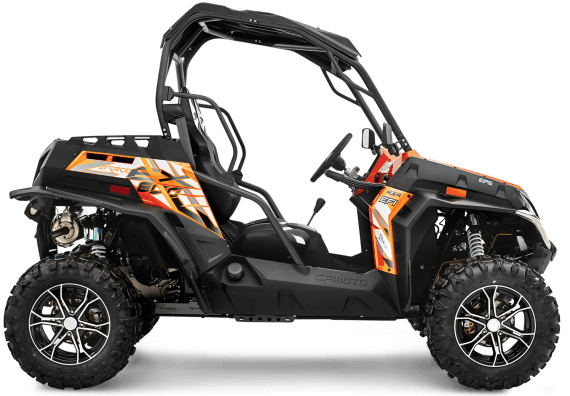 2017 CFMOTO ZForce 800 EX EPS in Monroe, Washington
