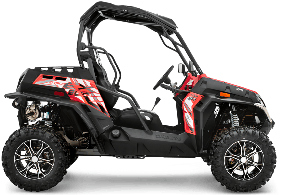 2017 CFMOTO ZForce 800 EX EPS in Lowell, North Carolina