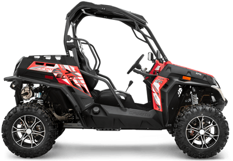 2017 CFMOTO ZForce 800 EX EPS in Sumter, South Carolina