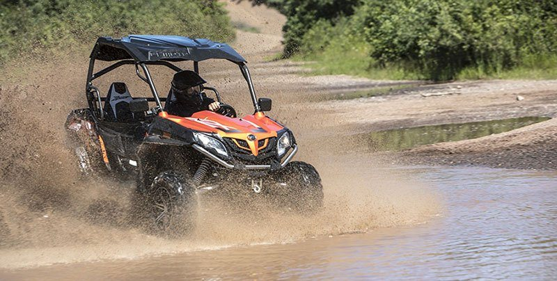 2017 CFMOTO ZForce 800 EX EPS in Darien, Wisconsin