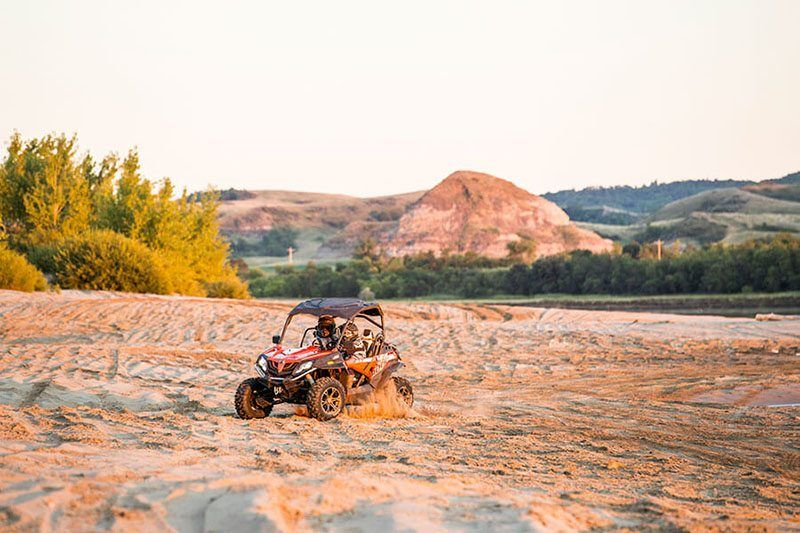 2018 CFMOTO ZForce 500 Trail in Hutchinson, Minnesota