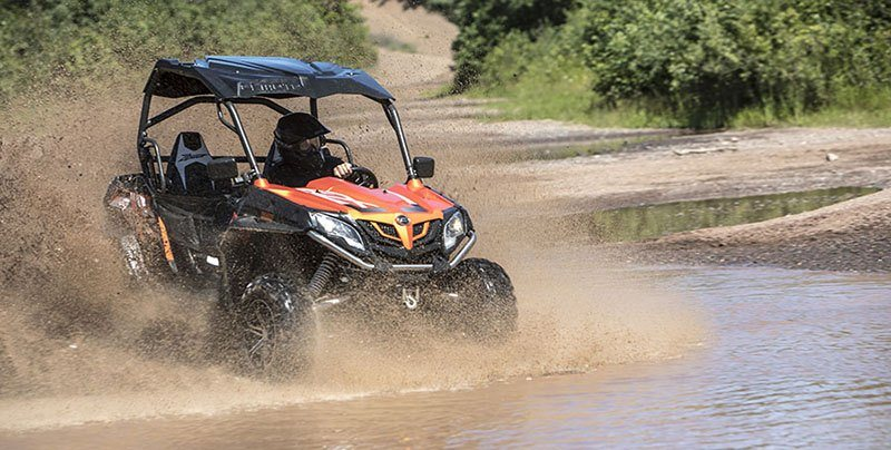 2018 CFMOTO ZForce 800 EX in Francis Creek, Wisconsin