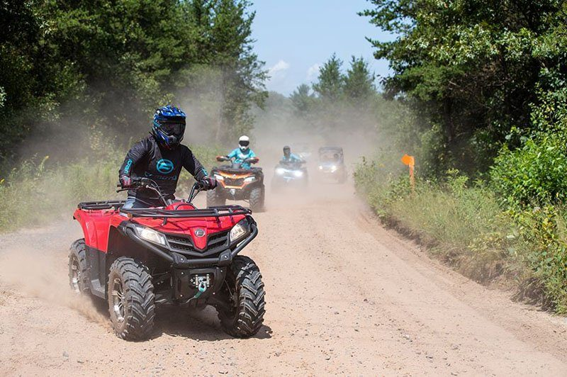 2020 CFMOTO CForce 500 EPS in Lebanon, Maine - Photo 4