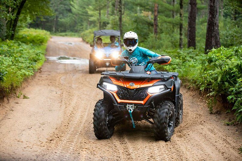 2020 CFMOTO CForce 600 Touring in Billings, Montana - Photo 2