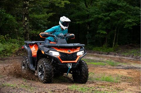 2020 CFMOTO CForce 600 Touring in Lebanon, Maine - Photo 4