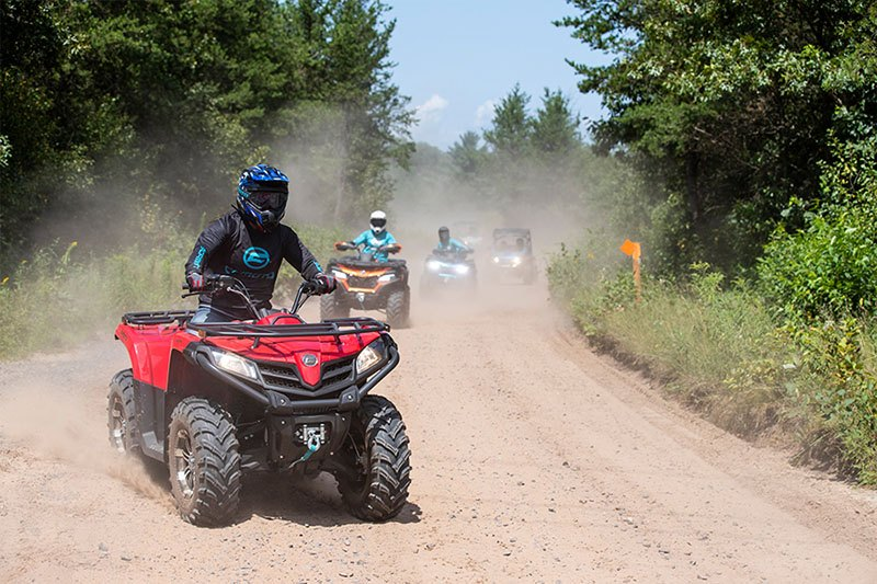 2021 CFMOTO CForce 500 EPS in Barre, Massachusetts - Photo 4