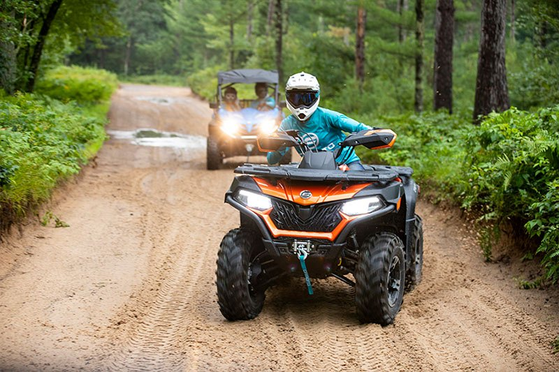 2021 CFMOTO CForce 600 Touring in Lebanon, Maine - Photo 2