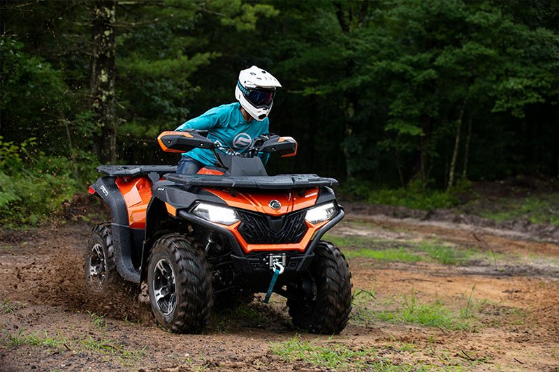 2021 CFMOTO CForce 600 Touring in Lebanon, Maine - Photo 4