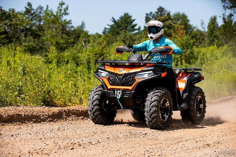 2021 CFMOTO CForce 600 Touring in Lebanon, Maine - Photo 5