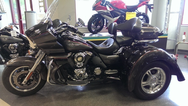 2016 Champion Trikes Kawasaki Vulcan 1700 in Sumter, South Carolina