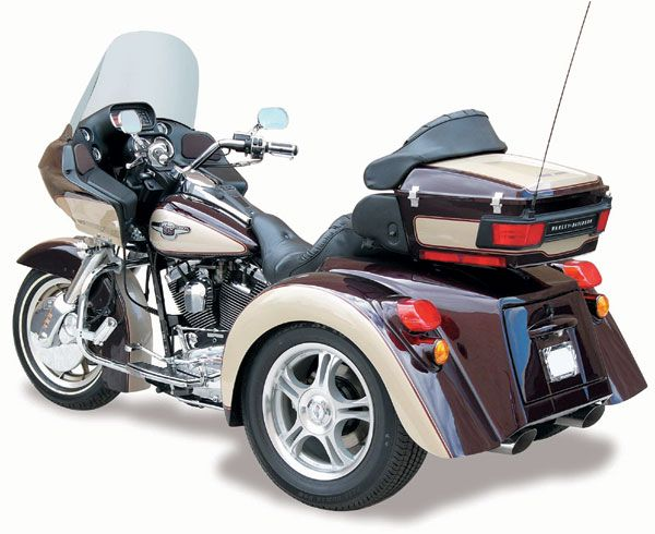 2017 Champion Trikes Harley-Davidson Touring FLH/FLT Independent Suspension Kit in Mount Vernon, Ohio