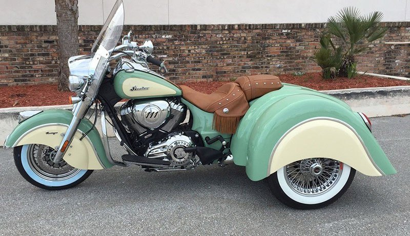 2018 Champion Trikes Indian Touring in Mount Vernon, Ohio