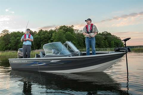 2016 Crestliner 1650 Super Hawk in Amory, Mississippi