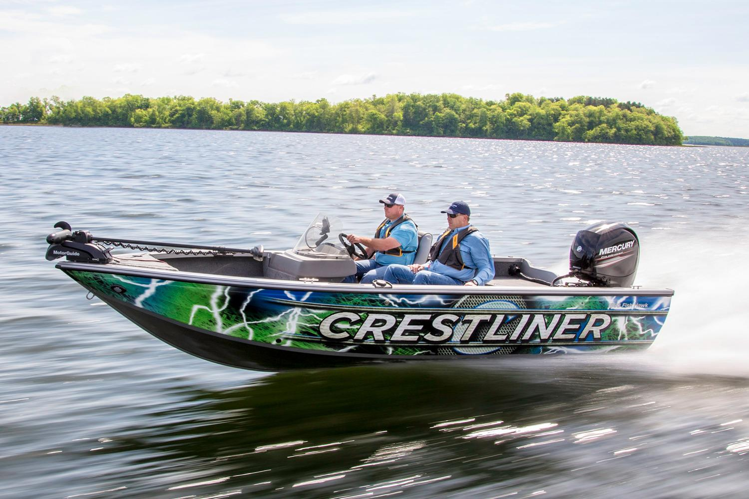 2016 Crestliner 1850 Fish Hawk SC in Amory, Mississippi