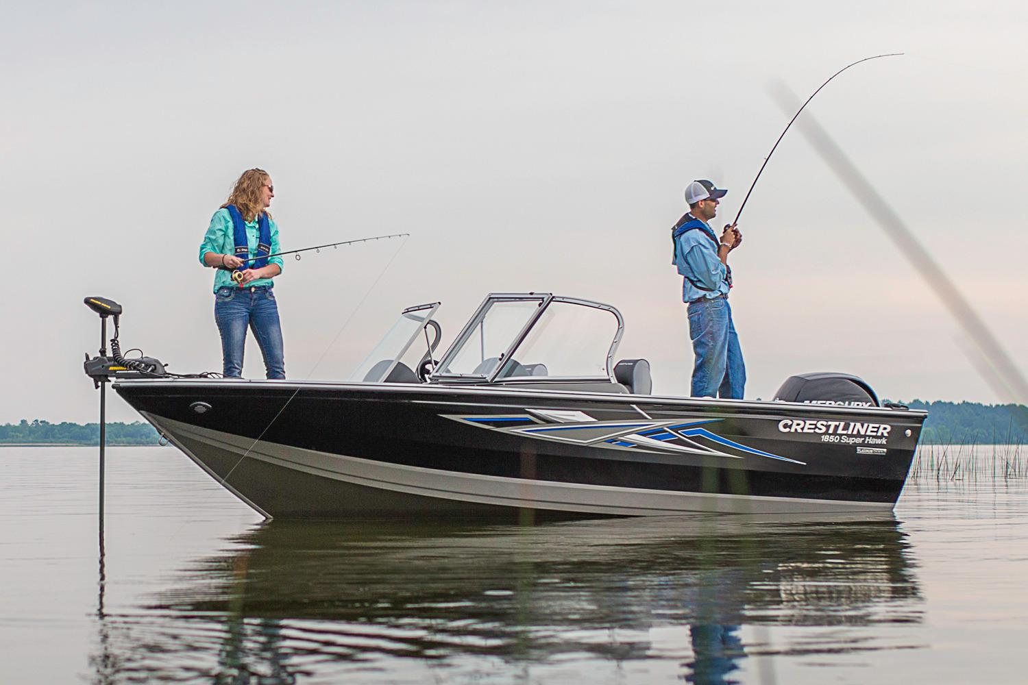 2016 Crestliner 1850 Super Hawk in Idaho Falls, Idaho