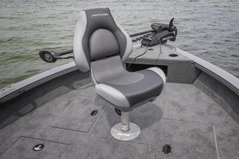 2017 Crestliner 1650 Fish Hawk SC in Amory, Mississippi