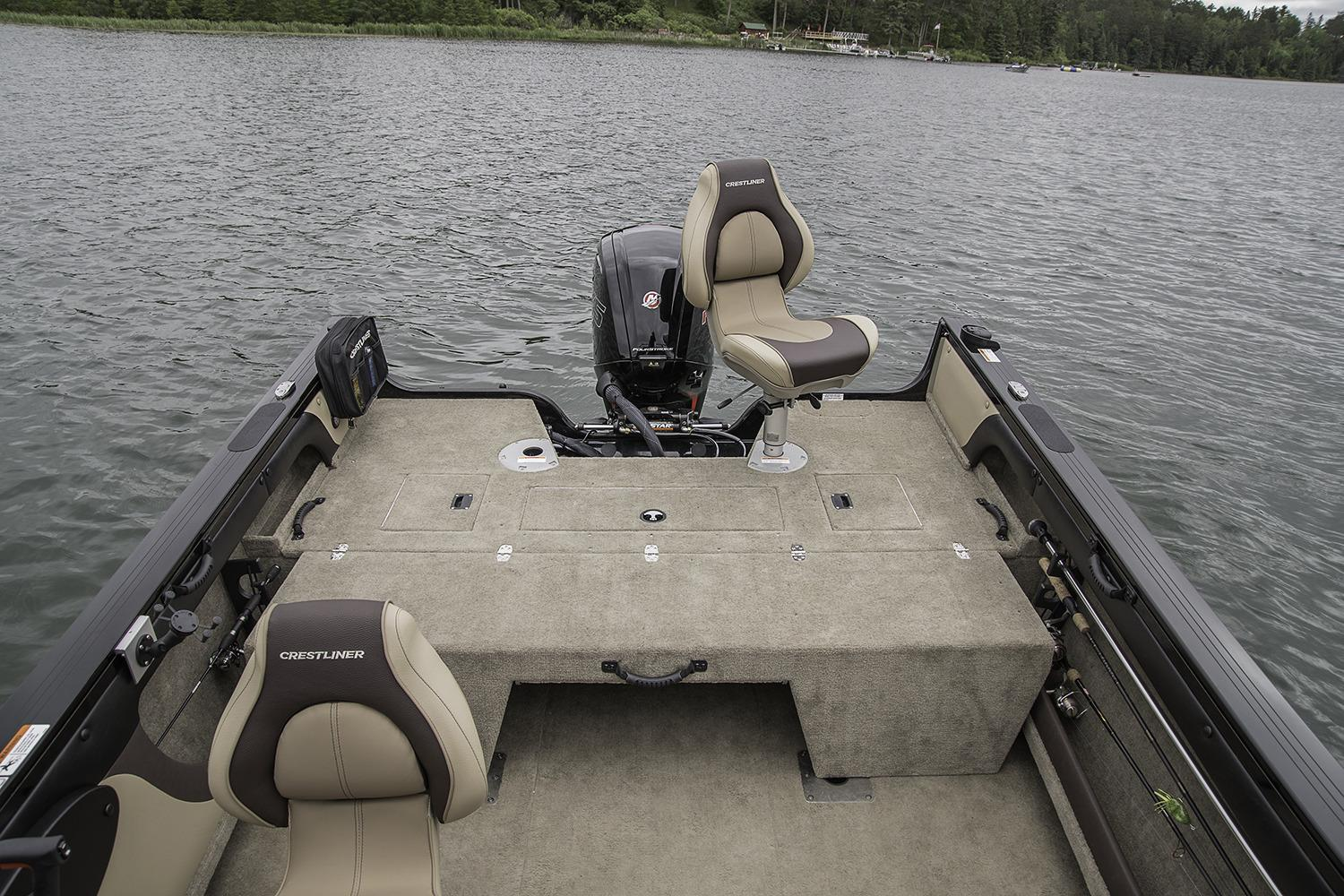 2017 Crestliner 1750 Super Hawk in Spearfish, South Dakota