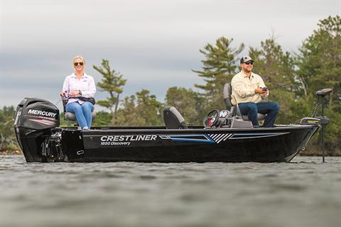 2018 Crestliner 1650 Discovery SC in Cable, Wisconsin
