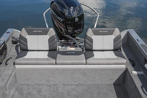 2018 Crestliner 1650 Fish Hawk WT in Kaukauna, Wisconsin