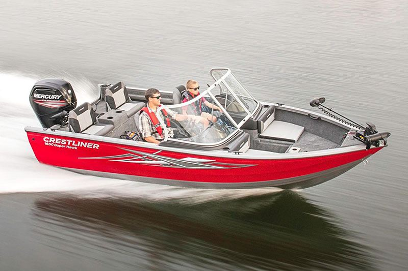 2018 Crestliner 1650 Super Hawk in Amory, Mississippi