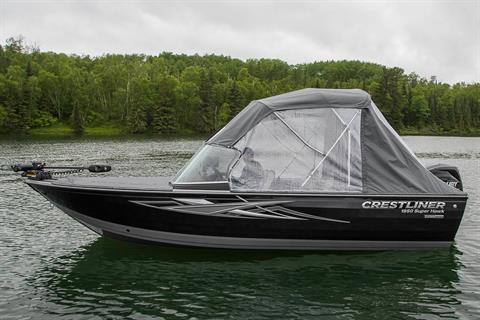 2018 Crestliner 1650 Super Hawk in Saint Peters, Missouri