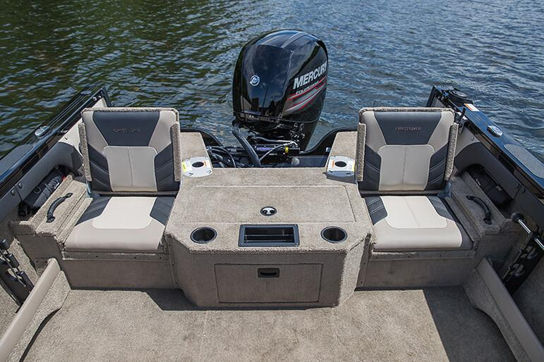 New 2018 Crestliner 1650 Super Hawk Power Boats Outboard in