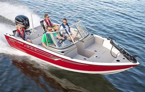 2018 Crestliner 1700 Vision in Cable, Wisconsin