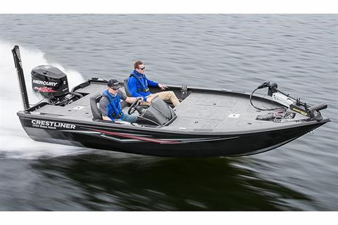 2018 Crestliner 1750 Bass Hawk in Cable, Wisconsin