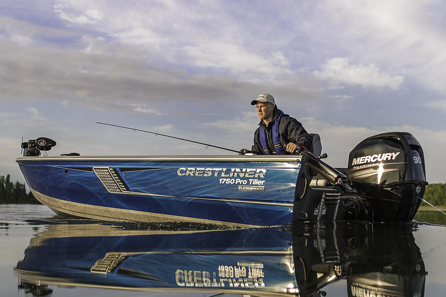 2018 Crestliner 1750 Pro Tiller in Spearfish, South Dakota