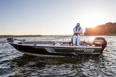 2018 Crestliner 1850 Pro Tiller in Cable, Wisconsin
