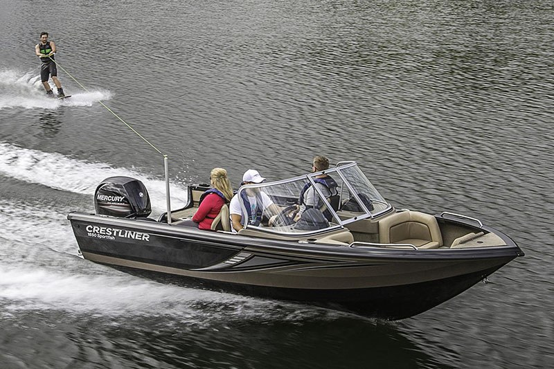 2018 Crestliner 1850 Sportfish Outboard in Spearfish, South Dakota