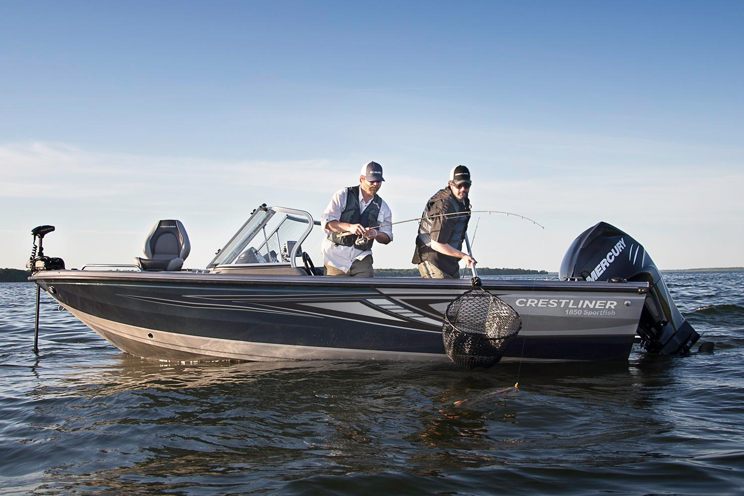 2018 Crestliner 1850 Sportfish Outboard in Amory, Mississippi - Photo 2
