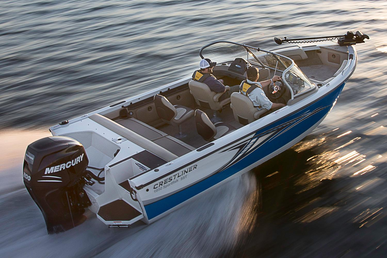 2018 Crestliner 1850 Sportfish Outboard in Amory, Mississippi - Photo 4
