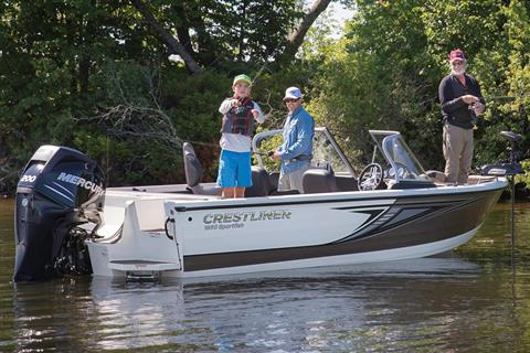 2018 Crestliner 1950 Sportfish SST in Cable, Wisconsin