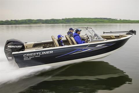 2018 Crestliner 1950 Super Hawk in Kaukauna, Wisconsin