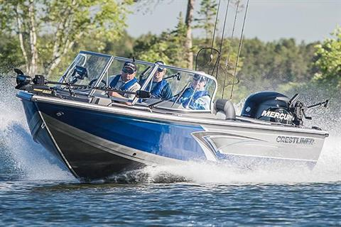 2018 Crestliner 2250 Authority in Cable, Wisconsin