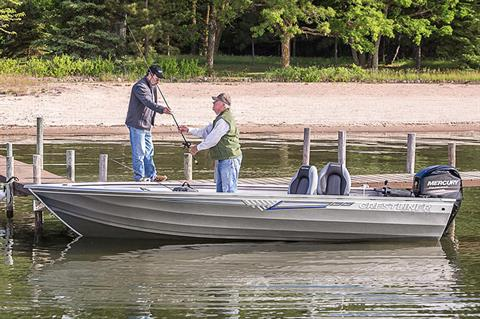 2018 Crestliner 1800 Kodiak Tiller in Cable, Wisconsin