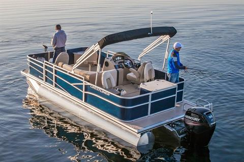 2018 Crestliner 220 Rally FS in Kaukauna, Wisconsin