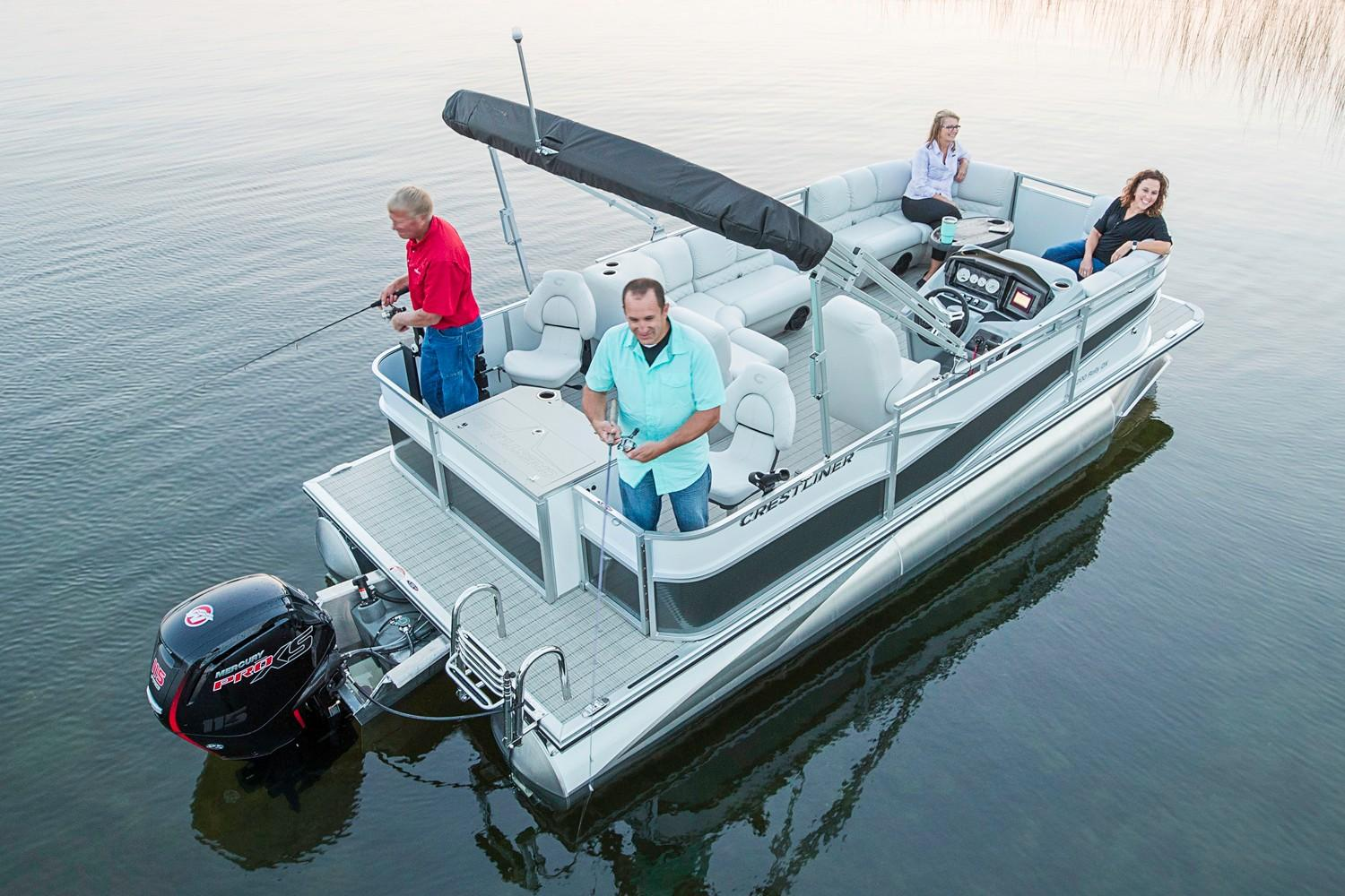 2018 Crestliner 240 Rally DX FC in Amory, Mississippi