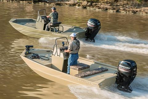 2018 Crestliner 1660 Retriever FCC in Amory, Mississippi
