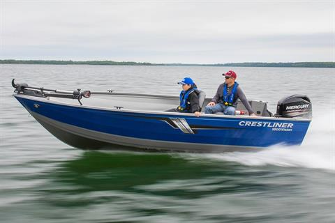 2019 Crestliner 1600 Vision Tiller in Spearfish, South Dakota