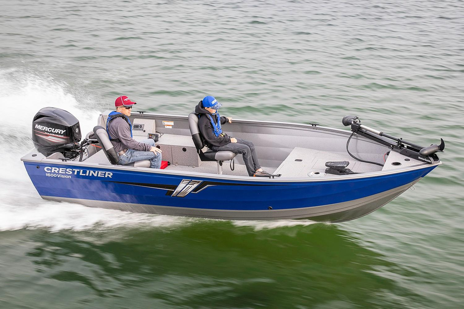2019 Crestliner 1600 Vision Tiller in Spearfish, South Dakota - Photo 1